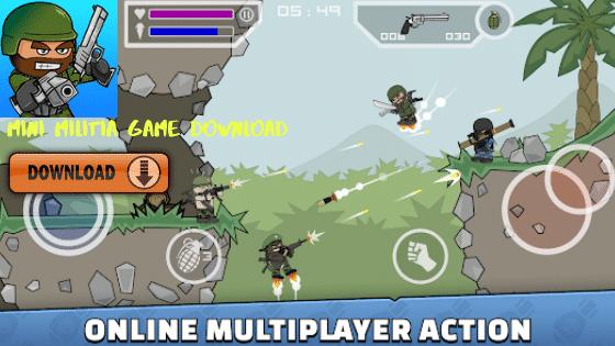 Mini militia game download – Android, iPhone & Windows mini militia game
