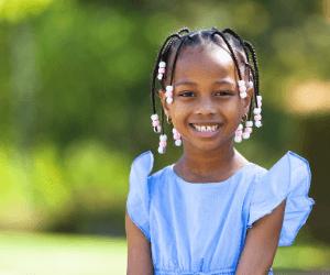 Popular  black kids braids hairstyles