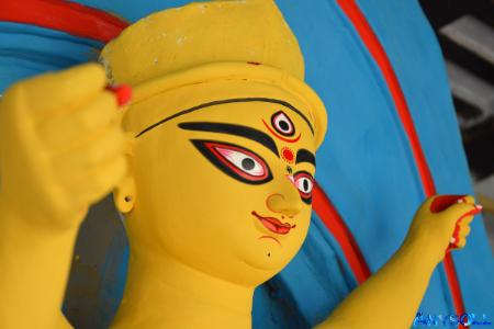 Durga puja pandal photo download