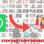 Item WhatsApp number