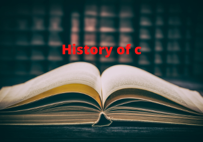 The history of the c language