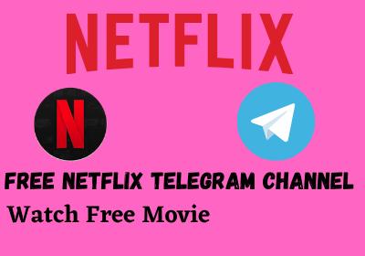 Free Netflix telegram channel