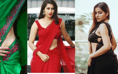 Hot girl in saree